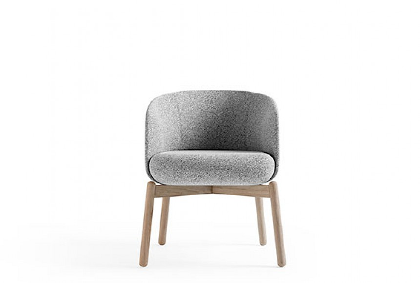 Stolice | Low Nest Chair Wood | +Halle